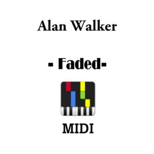Alan Walker - Fade (Synthesia Tutorial) [HD] +Midi & Sheet