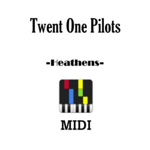 Twenty One Pilots Heathens Midi